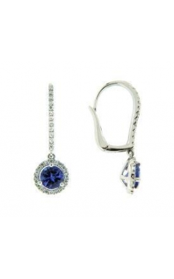Tanzanite and Diamond Earrings product image