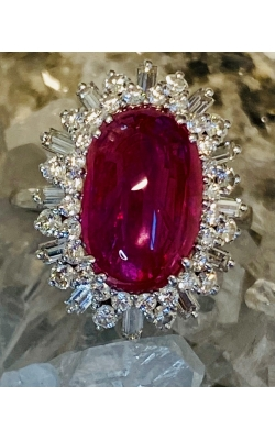 Estate Ruby Ring product image