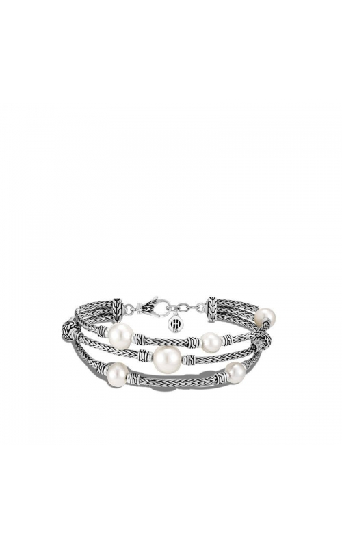 John Hardy Classic Chain Bracelet with Seven 10mm Fresh Water Pearls product image
