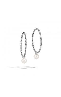 John Hardy Classic Chain Earrings With 9.5-10mm Fresh Water Pearls product image