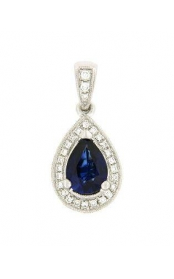Sapphire And Diamond Pendant product image