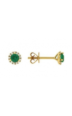 Emerald And Diamond Earrings product image