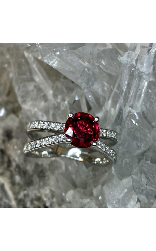 Unheated Red Spinel Ring product image