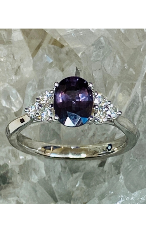 Unheated Colour Change Garnet Ring product image
