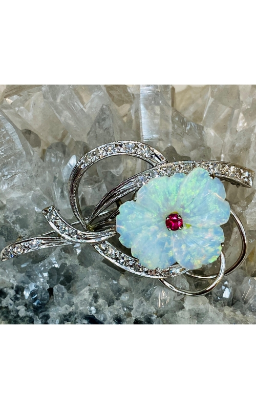 Estate Opal Brooch product image