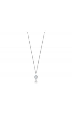 Mikimoto Diamond, Sapphire And Pearl Necklace product image