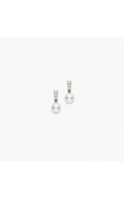 Mikimoto Pearl And Diamond Earrings product image