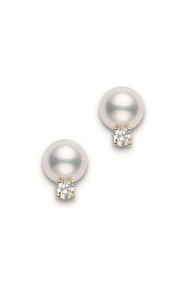Mikimoto Diamond And Pearl Studs product image