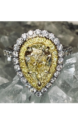 Yellow Diamond Ring product image