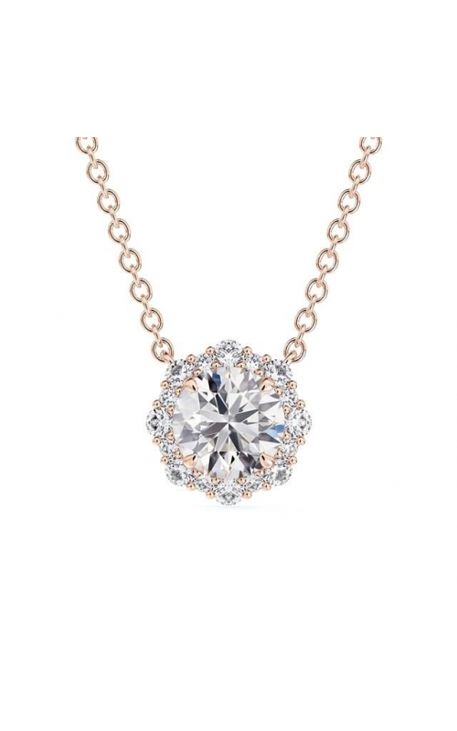 Forevermark Center of My Universe Floral Halo Diamond Pendant product image