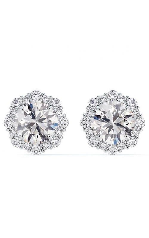 Forevermark Center of My Universe Floral Halo stud earrings product image